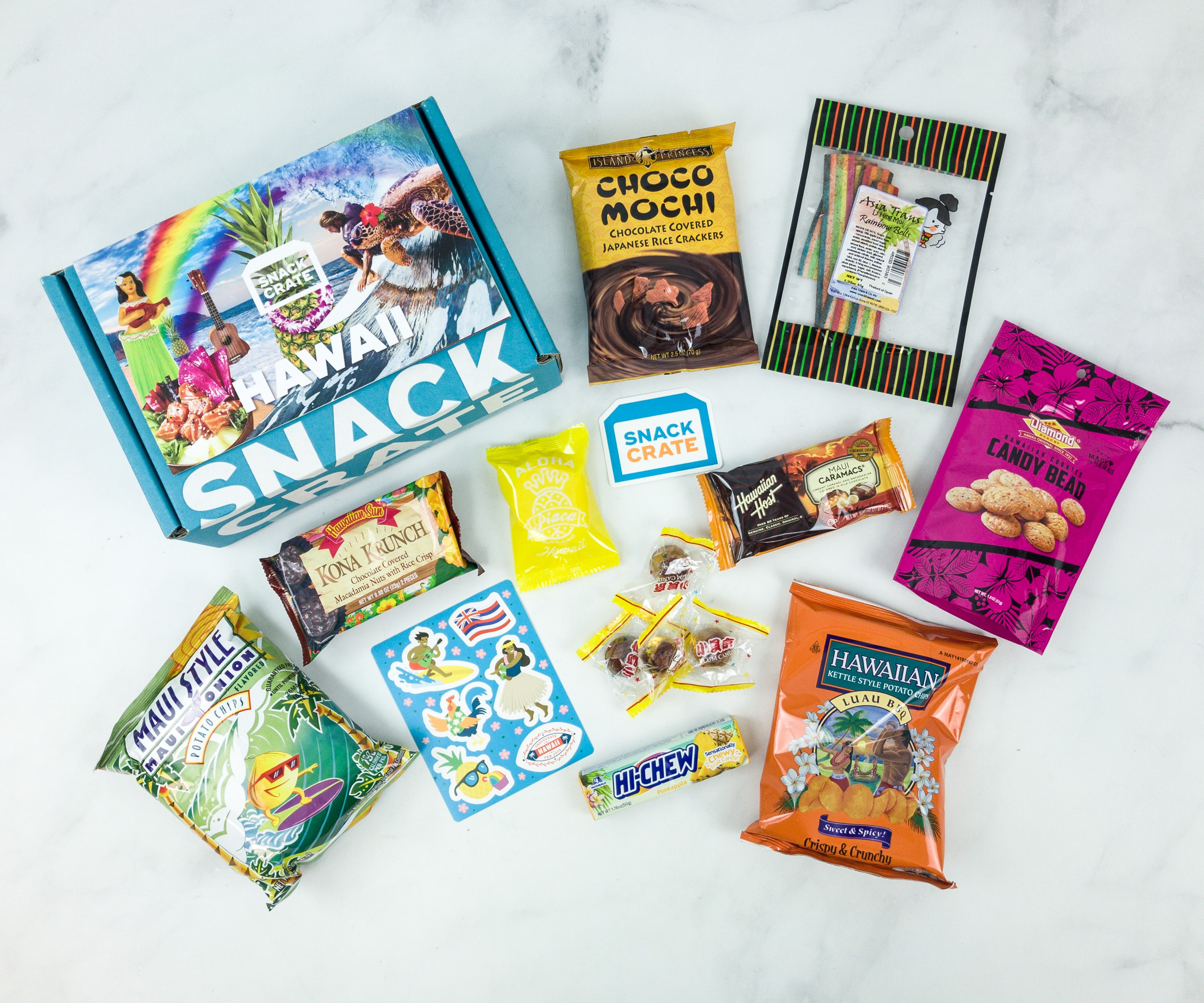 Snack Crate February 2019 Subscription Box Review & $10 Coupon