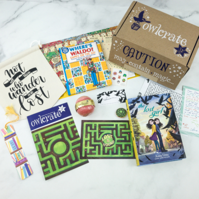 OwlCrate Jr. February 2019 Box Review & Coupon