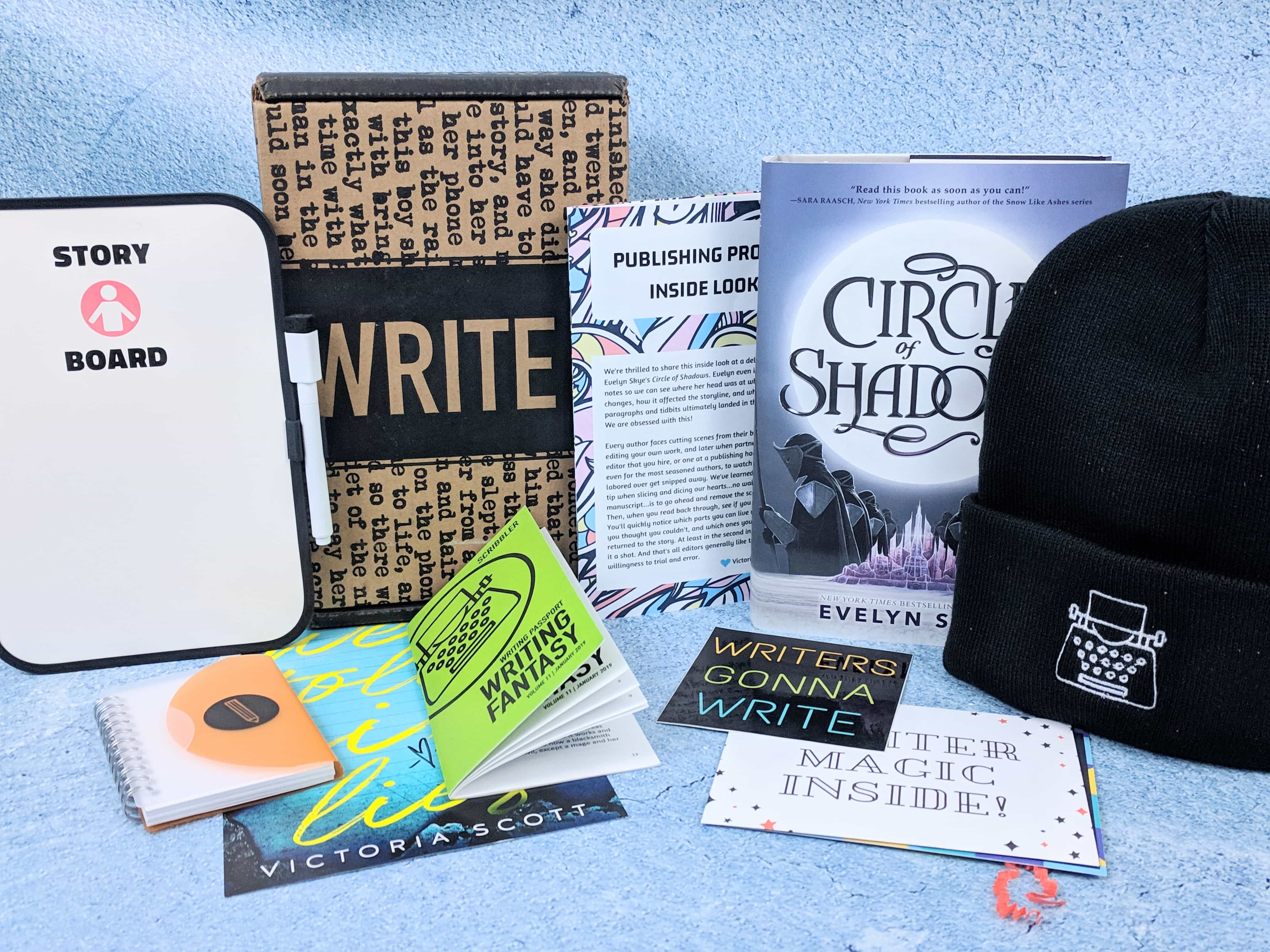 Scribbler January 2019 Subscription Box Review