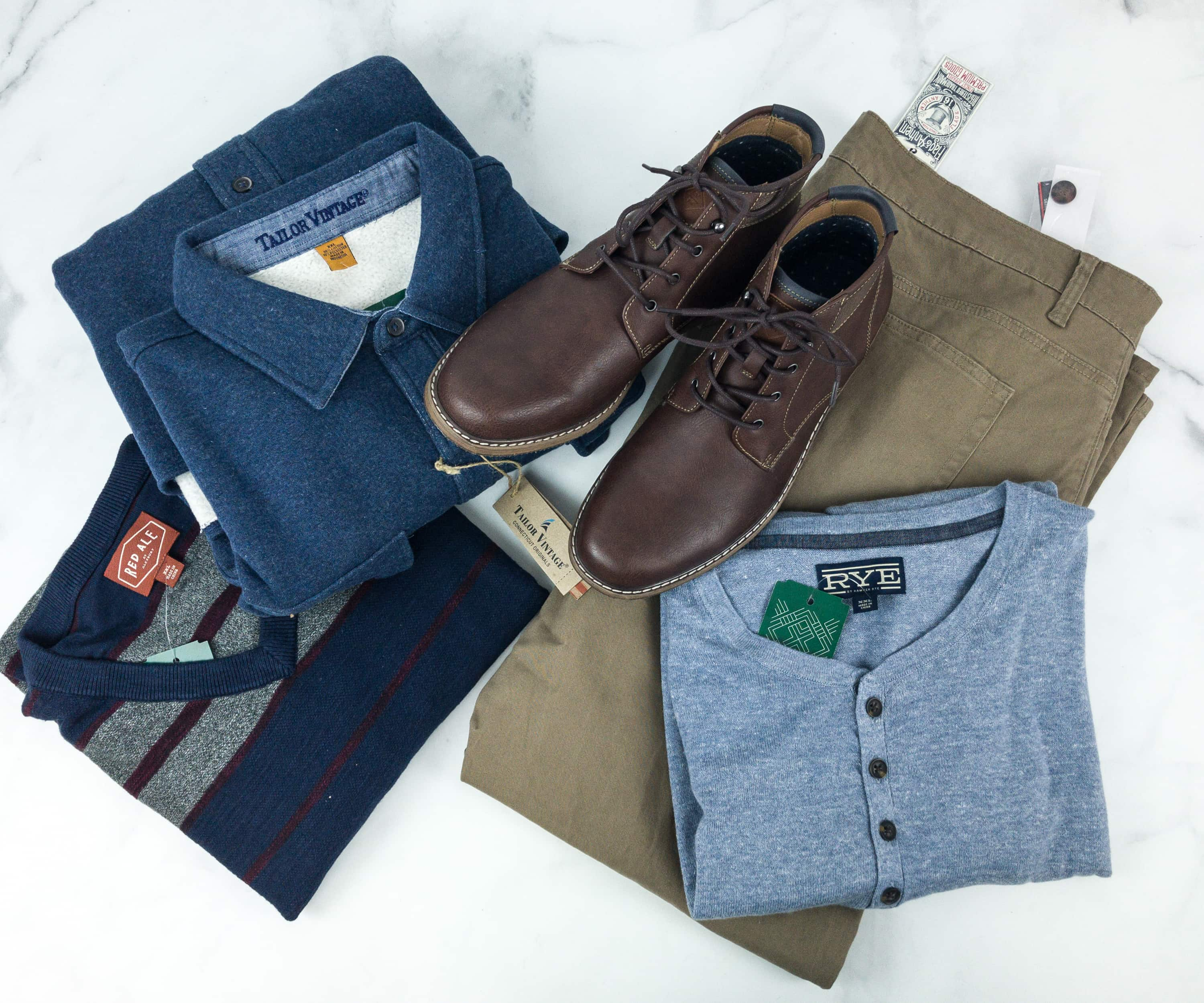 Stitch Fix Men February 2019 Review
