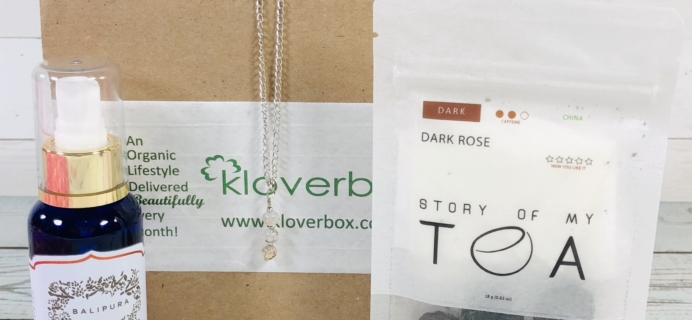 Kloverbox February 2019 Subscription Box Review & Coupon