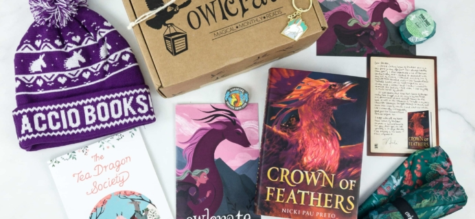 OwlCrate February 2019 Subscription Box Review + Coupon