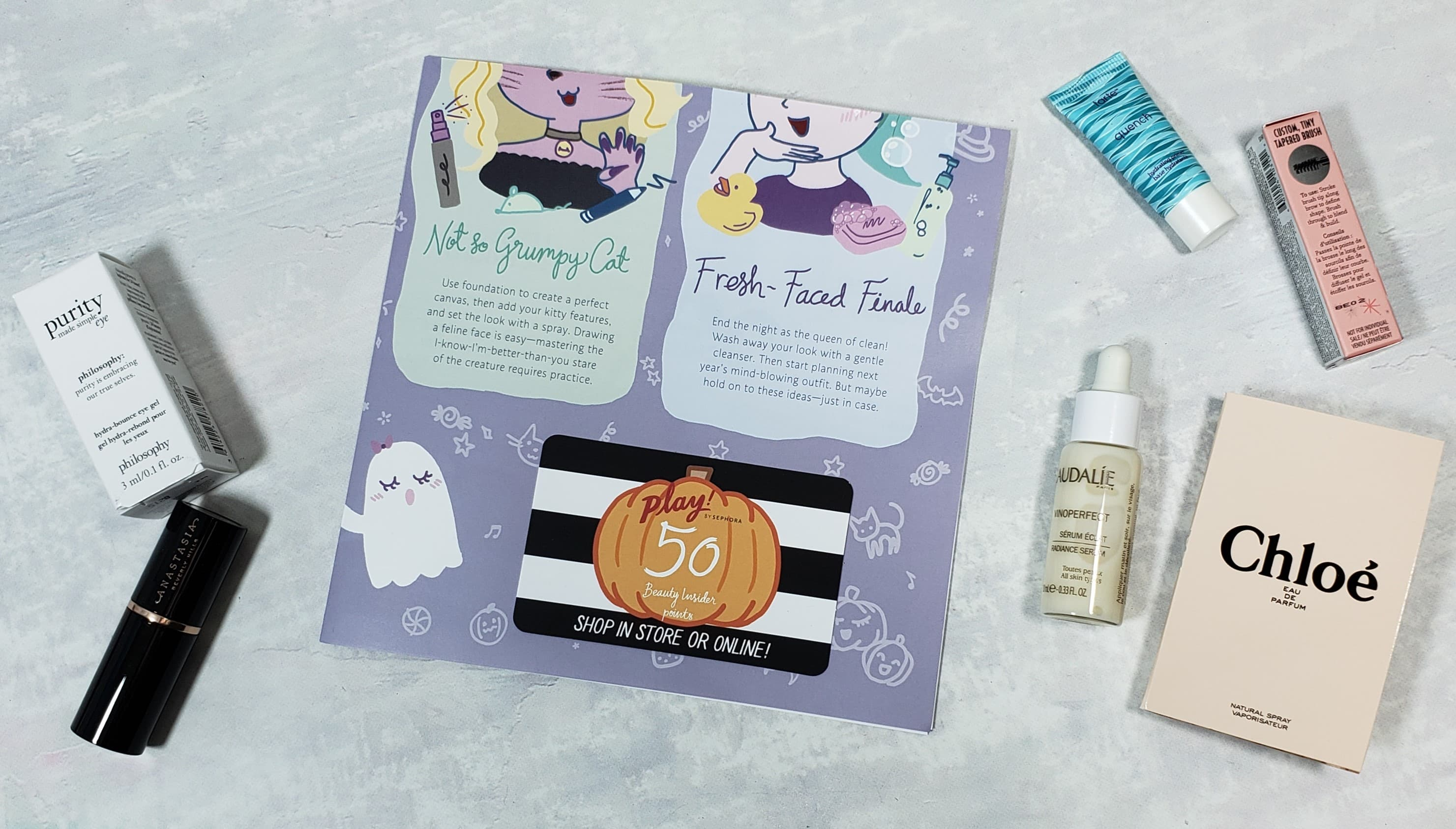 PLAY! by Sephora Subscription Box Review – October 2018