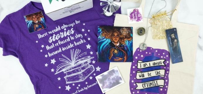 The Bookish Box February 2019 Subscription Box Review + Coupon