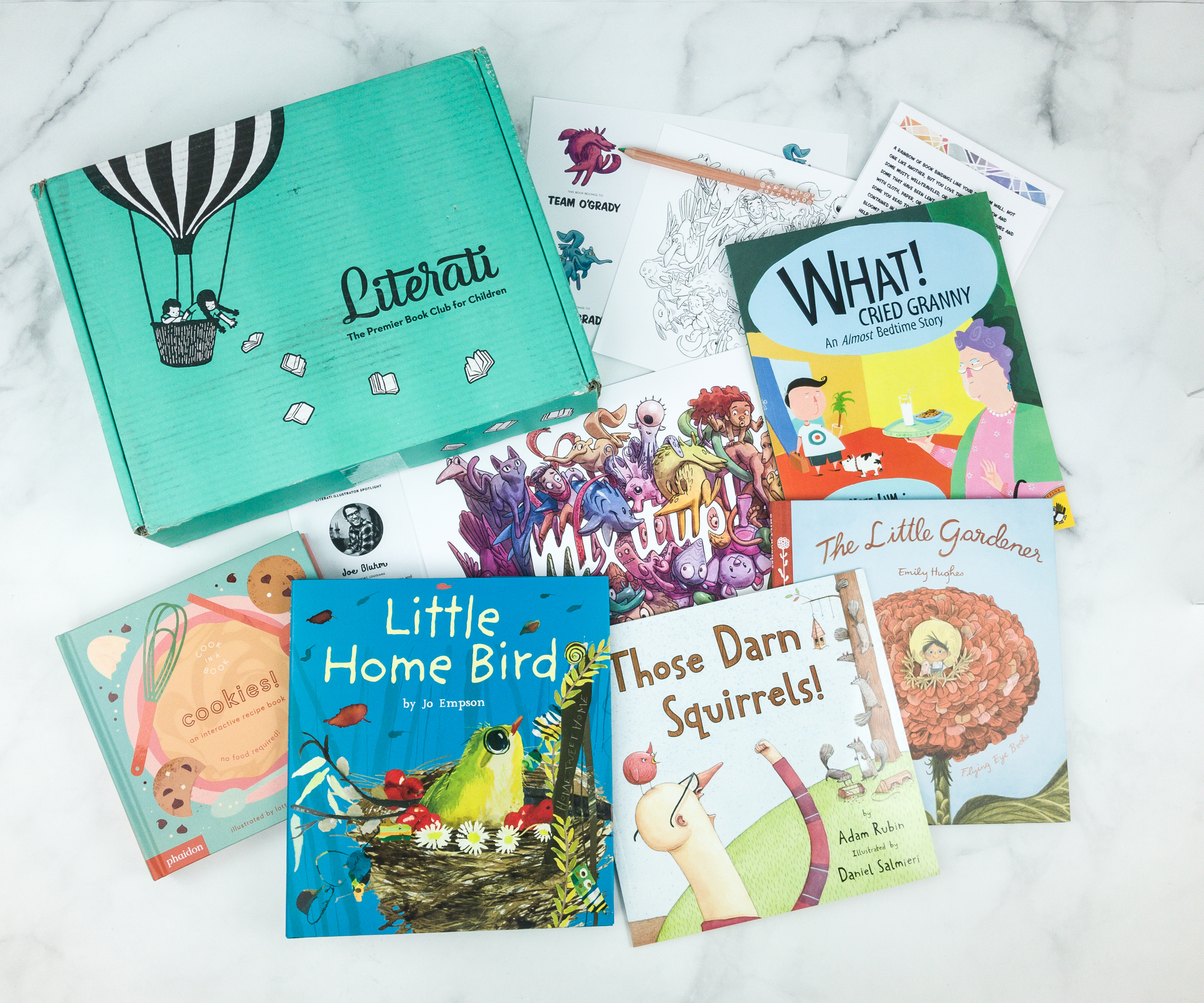 Literati February 2019 Review + Coupon – CLUB SPROUT