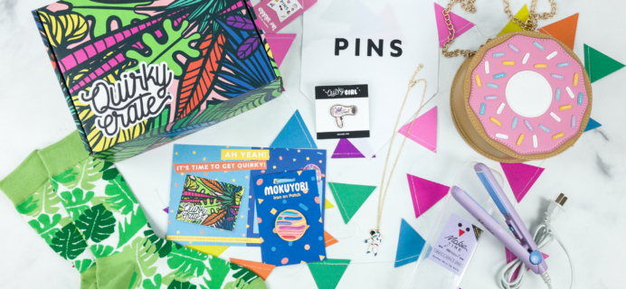 Quirky Crate February 2019 Subscription Box Review + Coupon