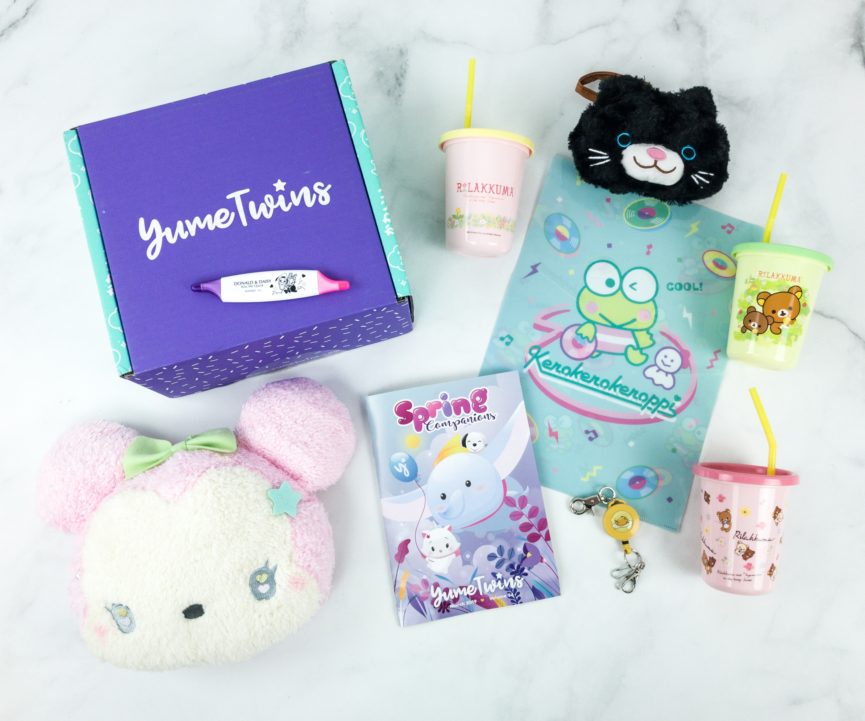 YumeTwins March 2019 Subscription Box Review + Coupon
