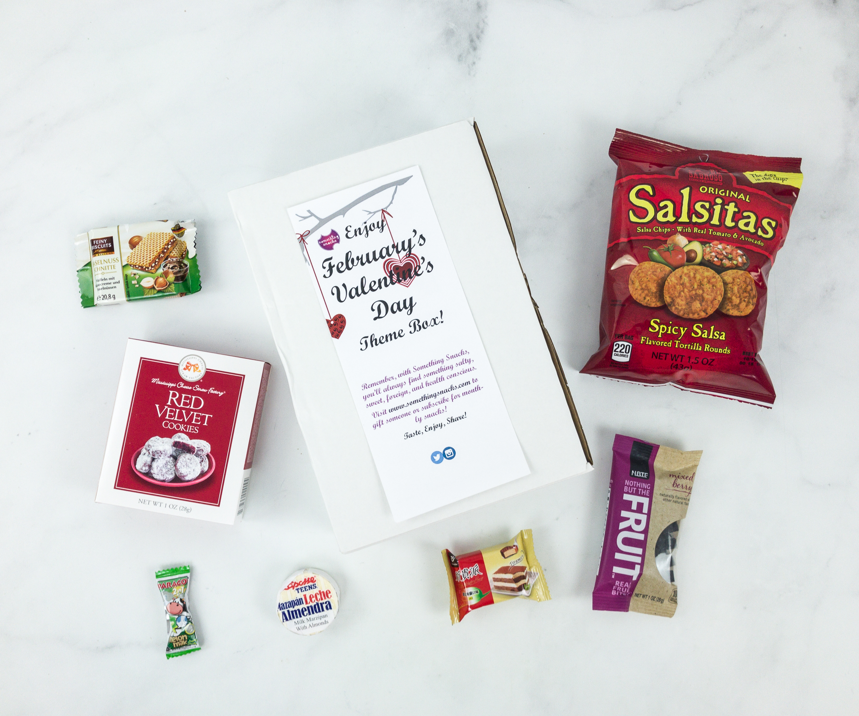 Something Snacks February 2019 Subscription Box Review