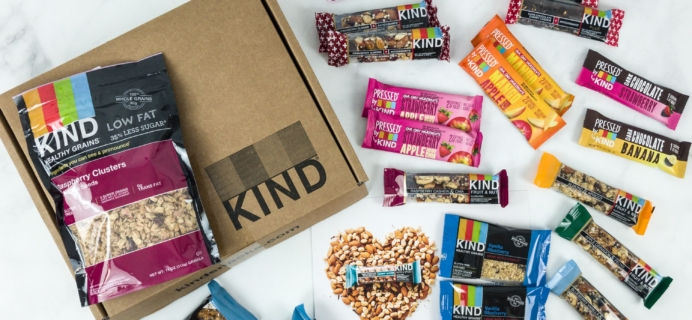 KIND Snack Club Subscription Box Review + $20 Off Coupon – Fruit Lovers