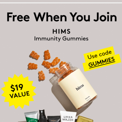 Birchbox Man Coupon: FREE HIMS Immunity Gummies with Subscription!
