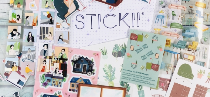 STICKII Club February 2019 Subscription Box Review – Pop Pack!