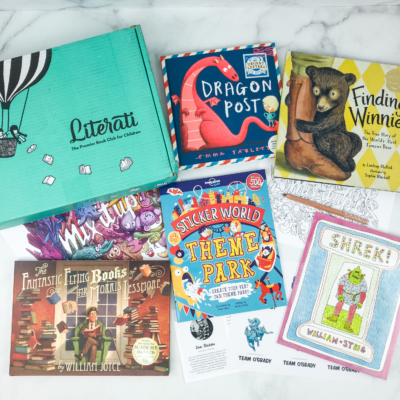 Literati Club Nova Box Review + Coupon – February 2019