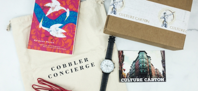 Culture Carton February 2019 Subscription Box Review + Coupon