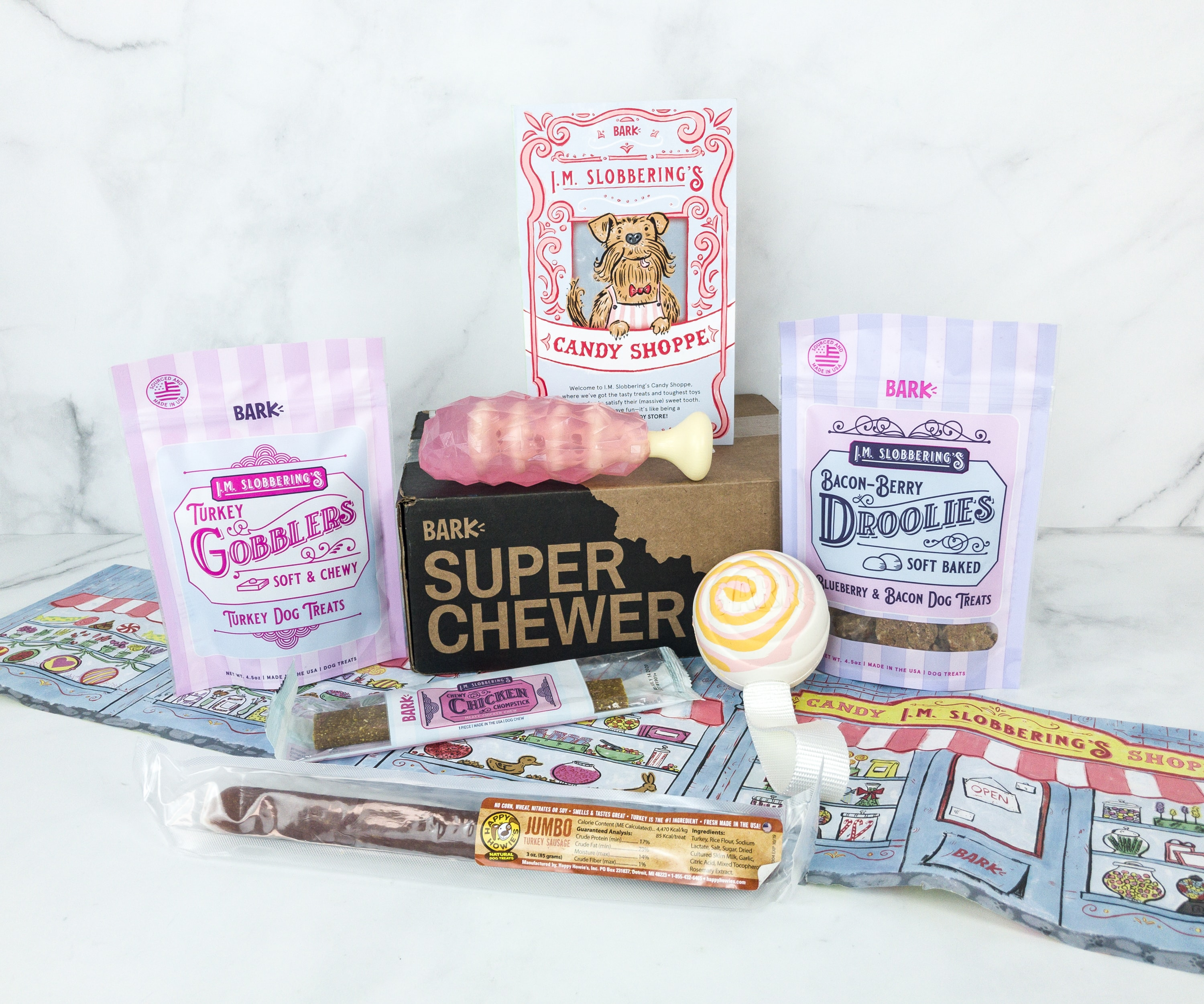 Barkbox Super Chewer February 2019 Subscription Box Review
