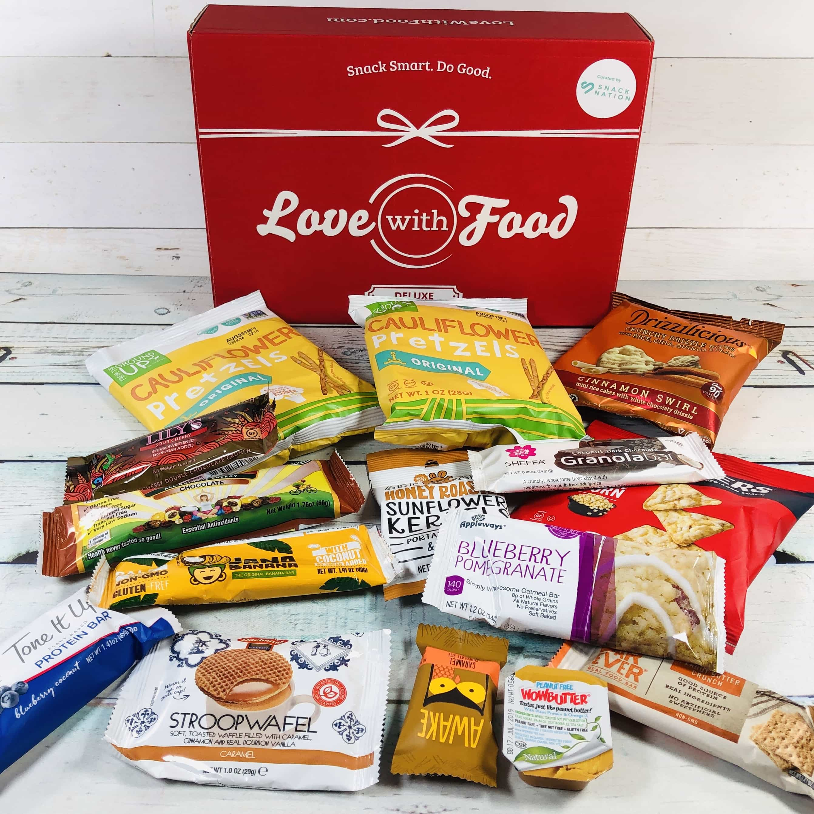 Love With Food February 2019 Deluxe Box Review + Coupon!
