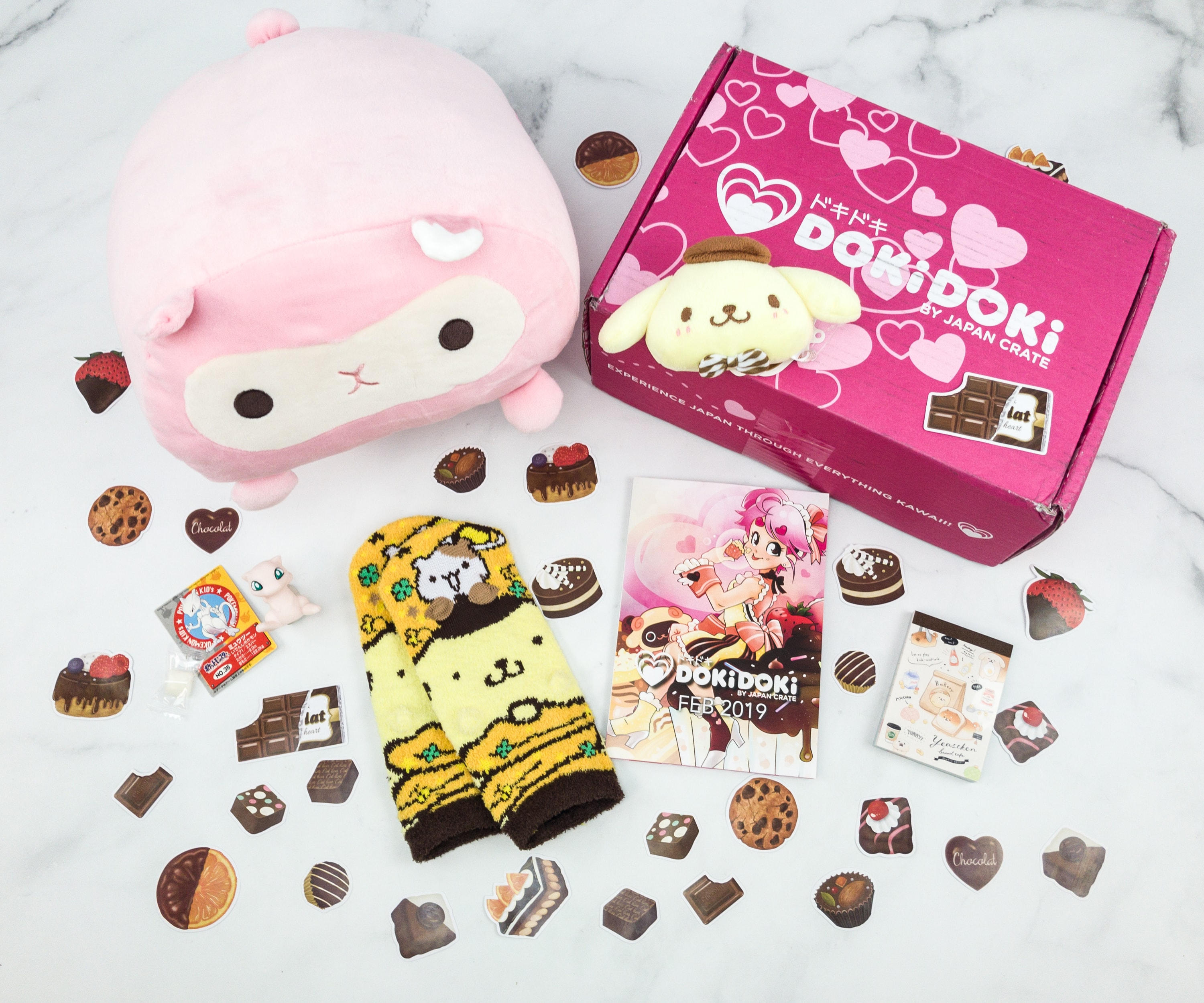 Doki Doki February 2019 Subscription Box Review & Coupon