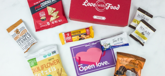 Love With Food February 2019 Tasting Box Review + Coupon!