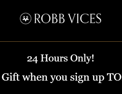 Robb Vices Flash Deal: Get a FREE Z Clip With Your First Box!