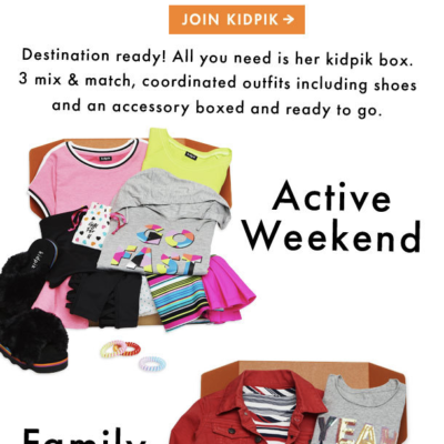 Kidpik Spring Break Box 2019 Available Now + Coupon!
