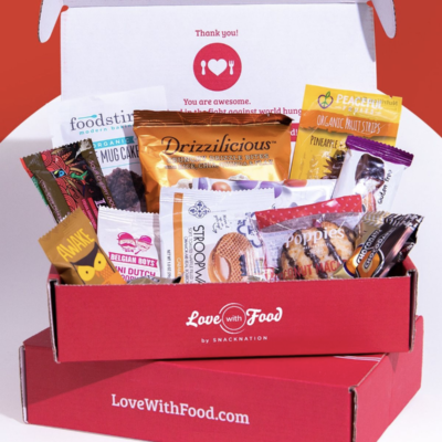 Love With Food Deal: Get Your First Tasting Box FREE!
