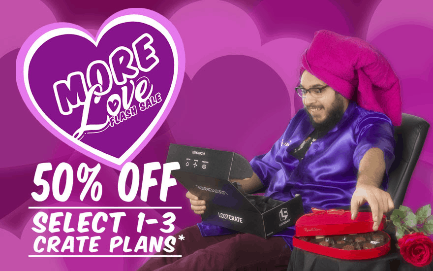 Loot Crate Flash Sale: Get Up To 50% Off On Select Crates – LAST DAY!