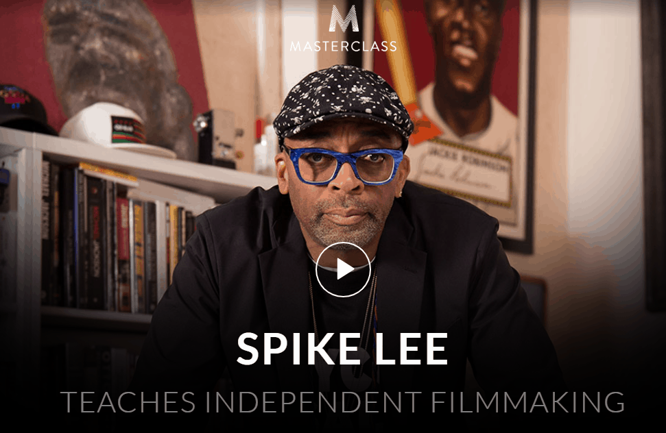 MasterClass Spike Lee Class Available Now!