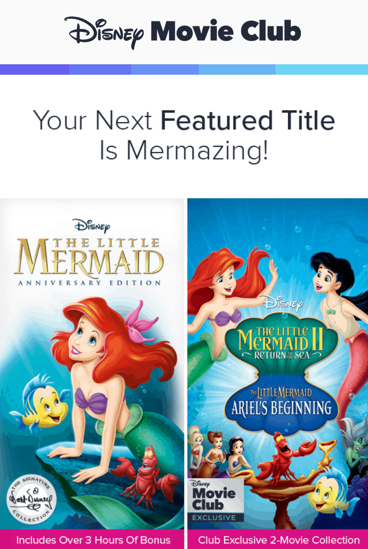 Disney Movie Club March 2019 Selection Time + Coupon!