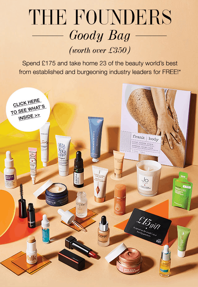 Cult Beauty Founders Goody Bag GWP Available Now + Full