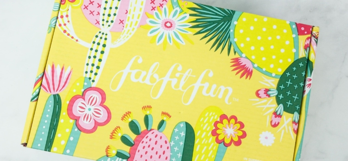 FabFitFun Spring 2019 Editor's Box Full Spoilers + $10 Coupon!