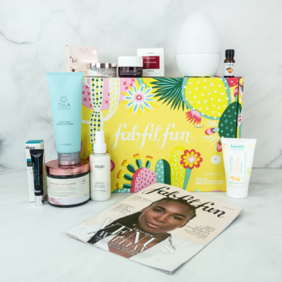 FabFitFun Spring 2019 Box Review + Coupon
