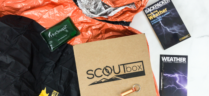 SCOUTbox February 2019 Subscription Box Review + Coupon