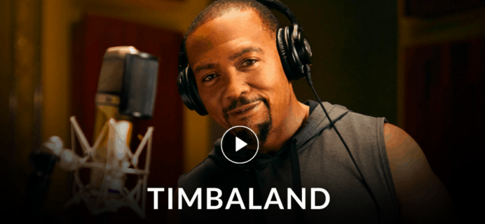 MasterClass Timbaland Class Available Now!
