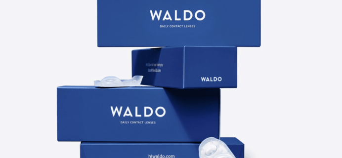 Waldo Contact Lenses Black Friday Sale! FREE Trial + 120 lenses FREE on first order!