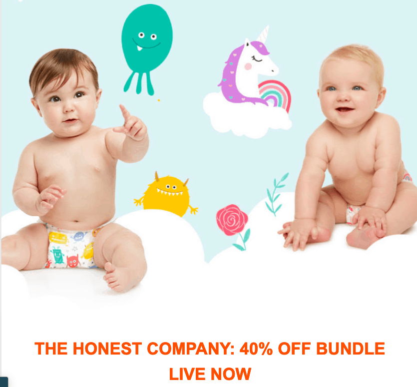 Honest Company Coupon: 40% Off On Your First Month!