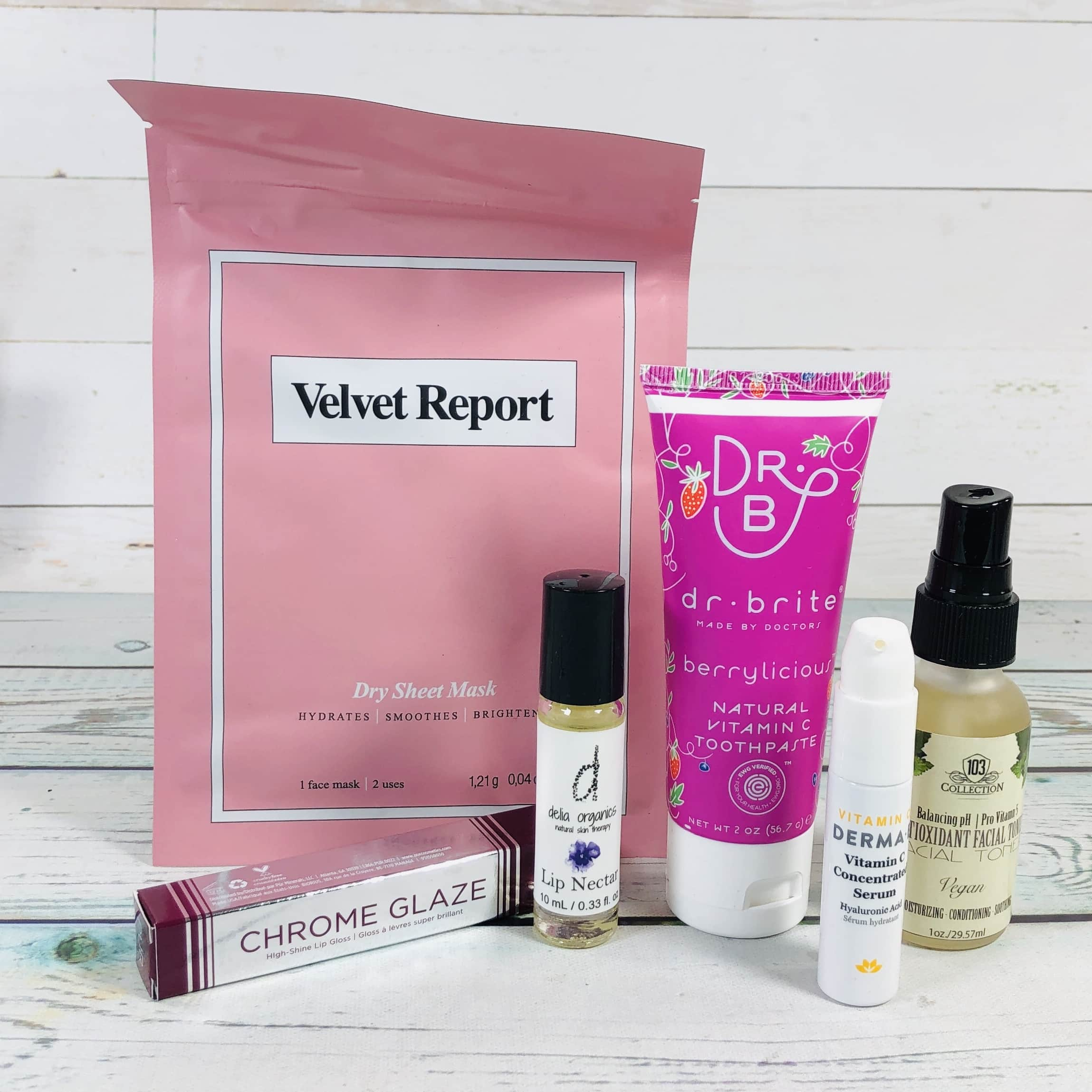 Vegan Cuts Beauty Box February 2019 Subscription Box Review
