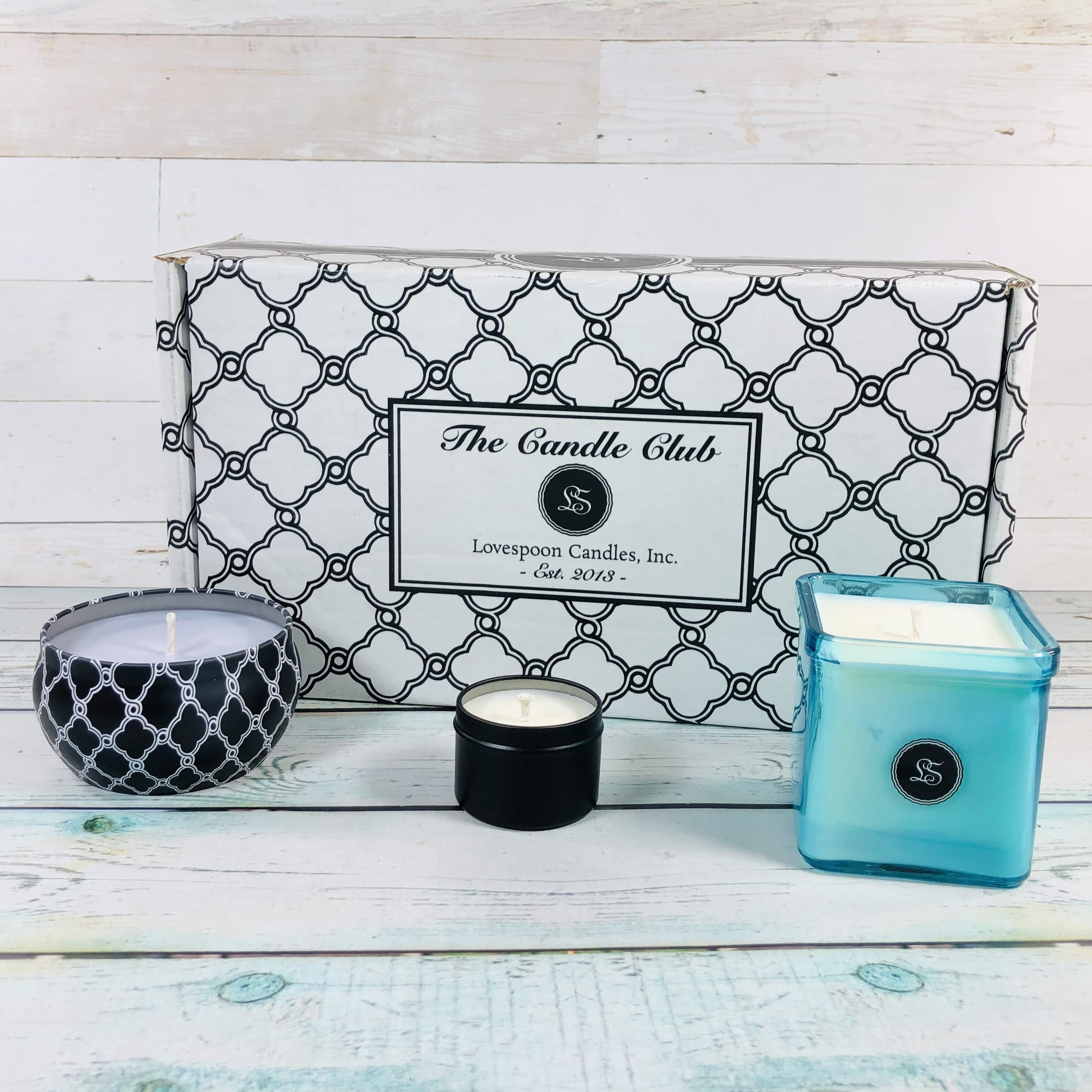 Lovespoon Candles February 2019 Subscription Box Review + Coupon