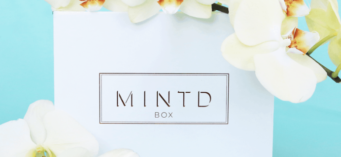MINTD Box November 2019 Full Spoilers + Coupon!
