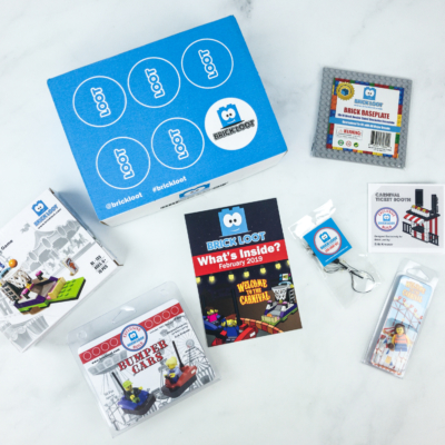 Brick Loot February 2019 Subscription Box Review & Coupon