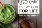 SmoothieBox Sale: Get $15 Off Every SmoothieBox For Life!