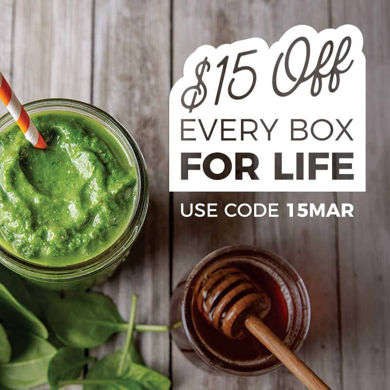 SmoothieBox Sale: Get $15 Off Every SmoothieBox For Life + FREE Insulated Travel Mug!