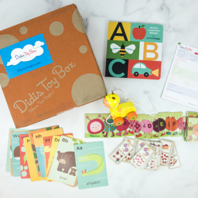 Didis Toy Box March 2019 Subscription Box Review & Coupon