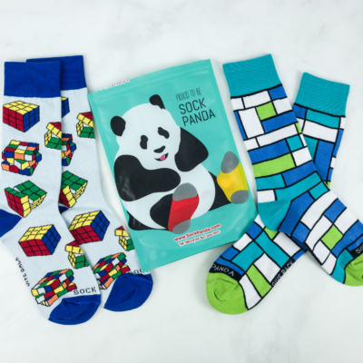 Sock Panda Tweens February 2019 Subscription Review + Coupon