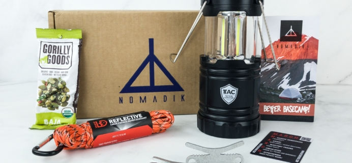 Nomadik February 2019 Subscription Box Review + Coupon