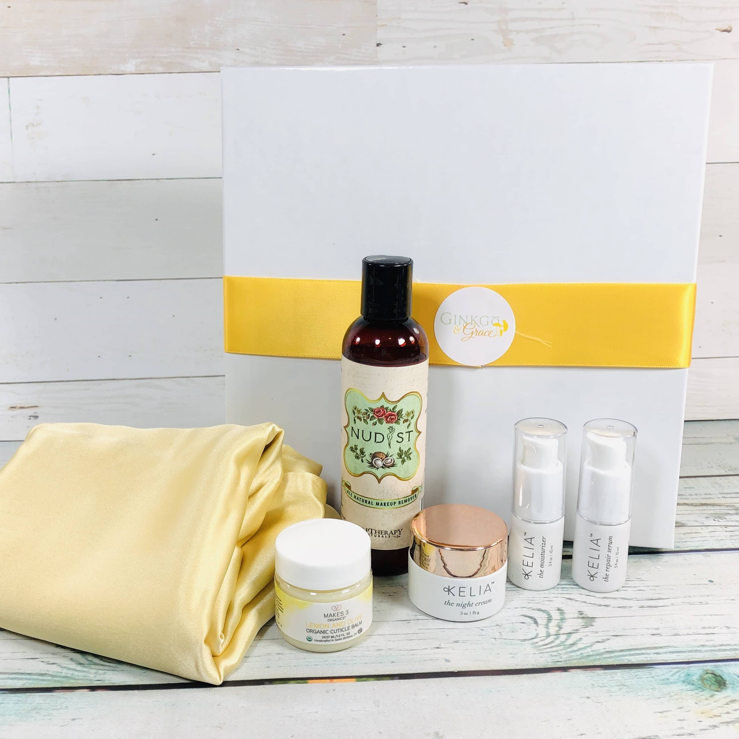 Ginkgo & Grace January 2019 Subscription Box Review
