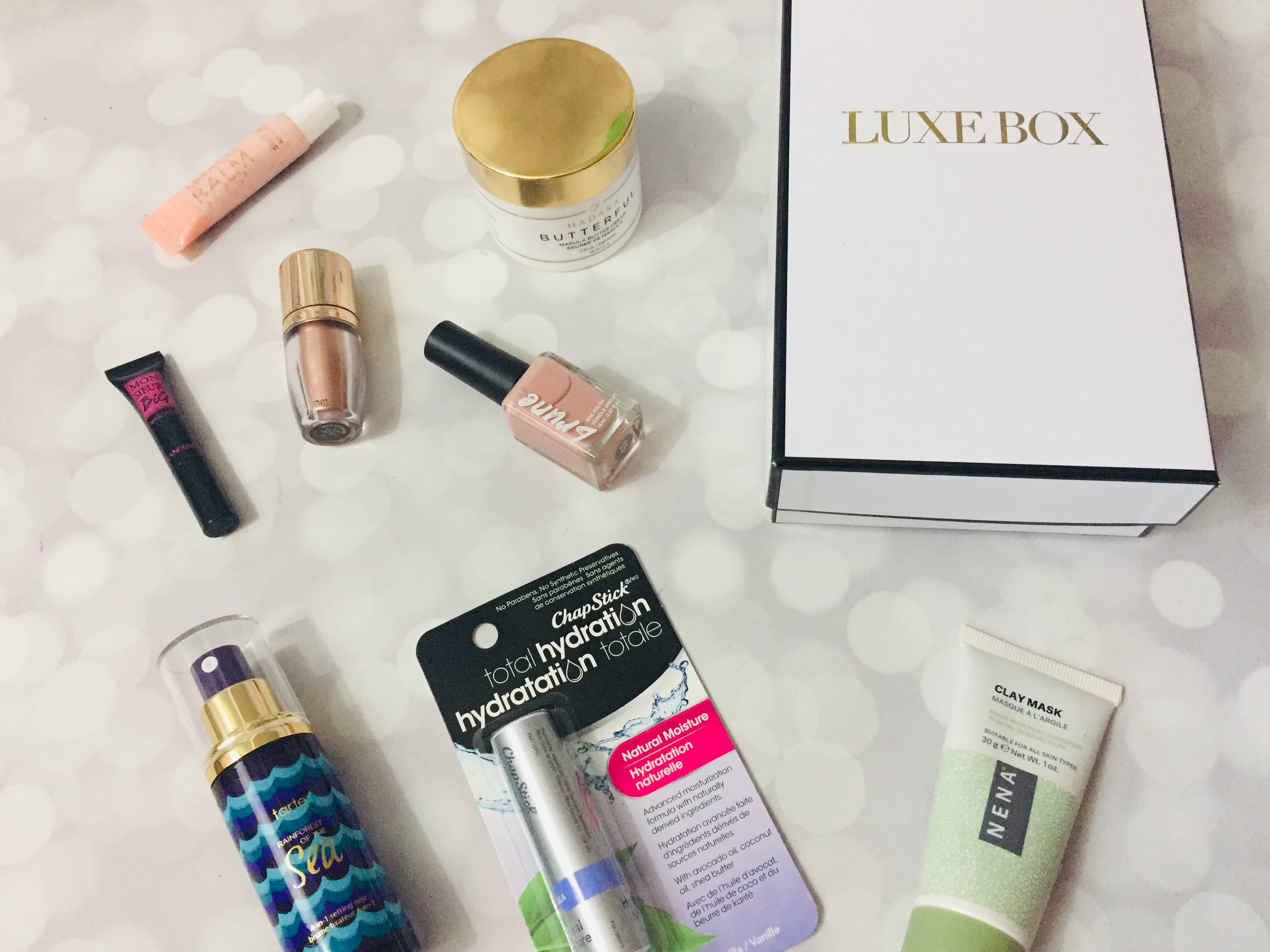 Luxe Box Spring 2019 Subscription Box Review