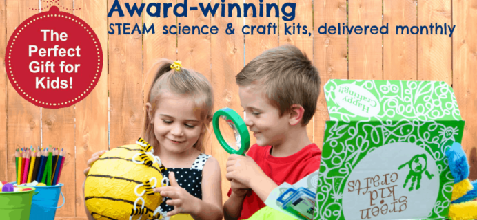 Green Kid Crafts International Shipping Update + Coupon!