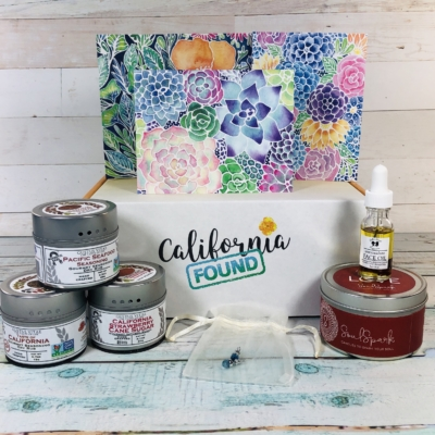 California Found February 2019 Subscription Box Review + Coupon
