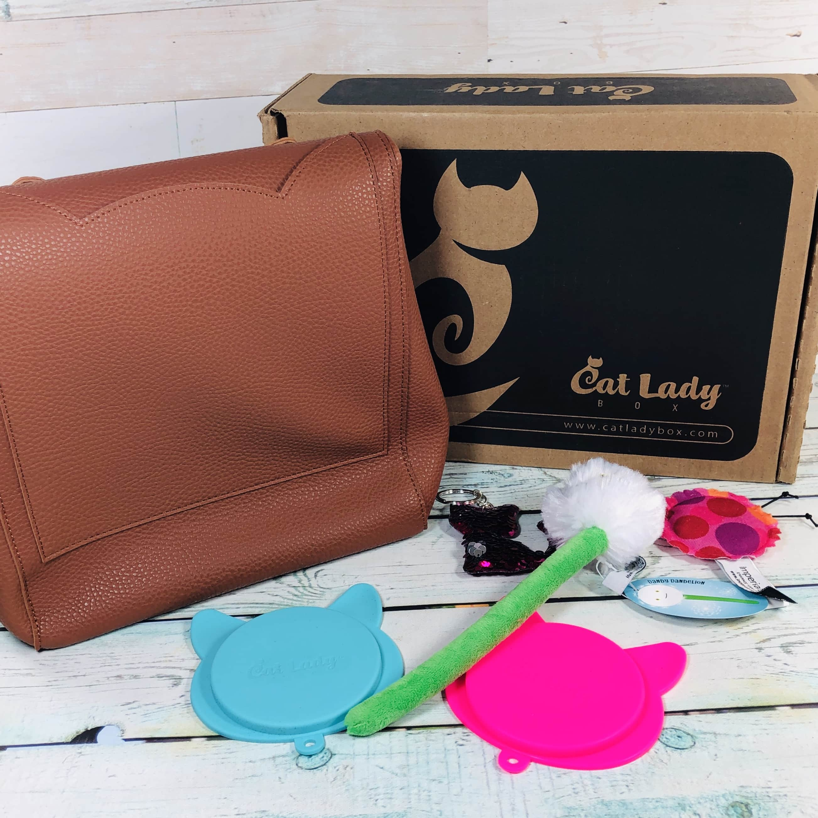 Cat Lady Box March 2019 Subscription Box Review + Coupon