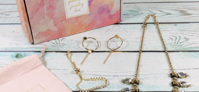 Glamour Jewelry Box February 2019 Subscription Box Review + Coupon