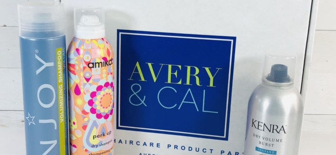 Avery & Cal March 2019 Subscription Box Review + Coupon